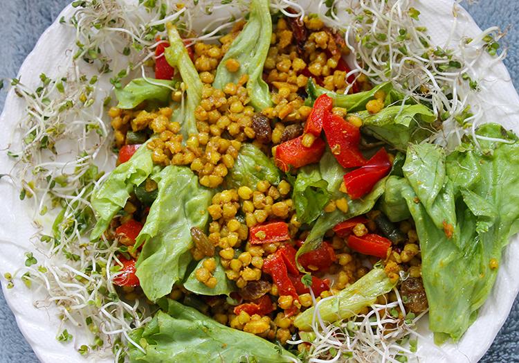 Millet salad 750